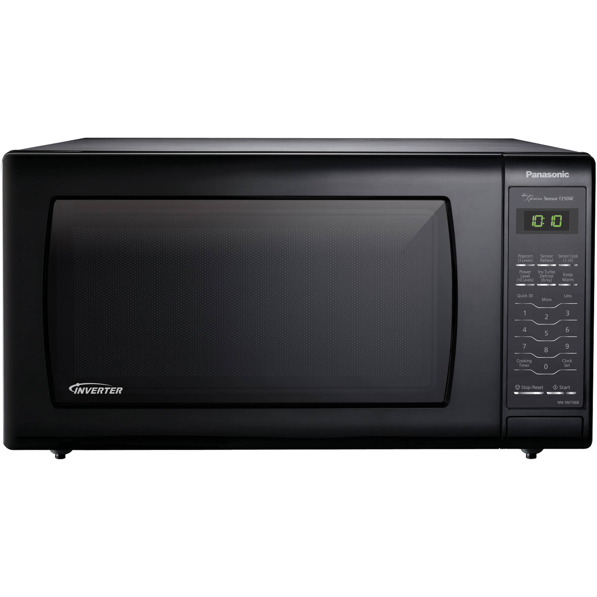... Ft. Countertop Microwave Oven with Inverter Technology - Black eBay
