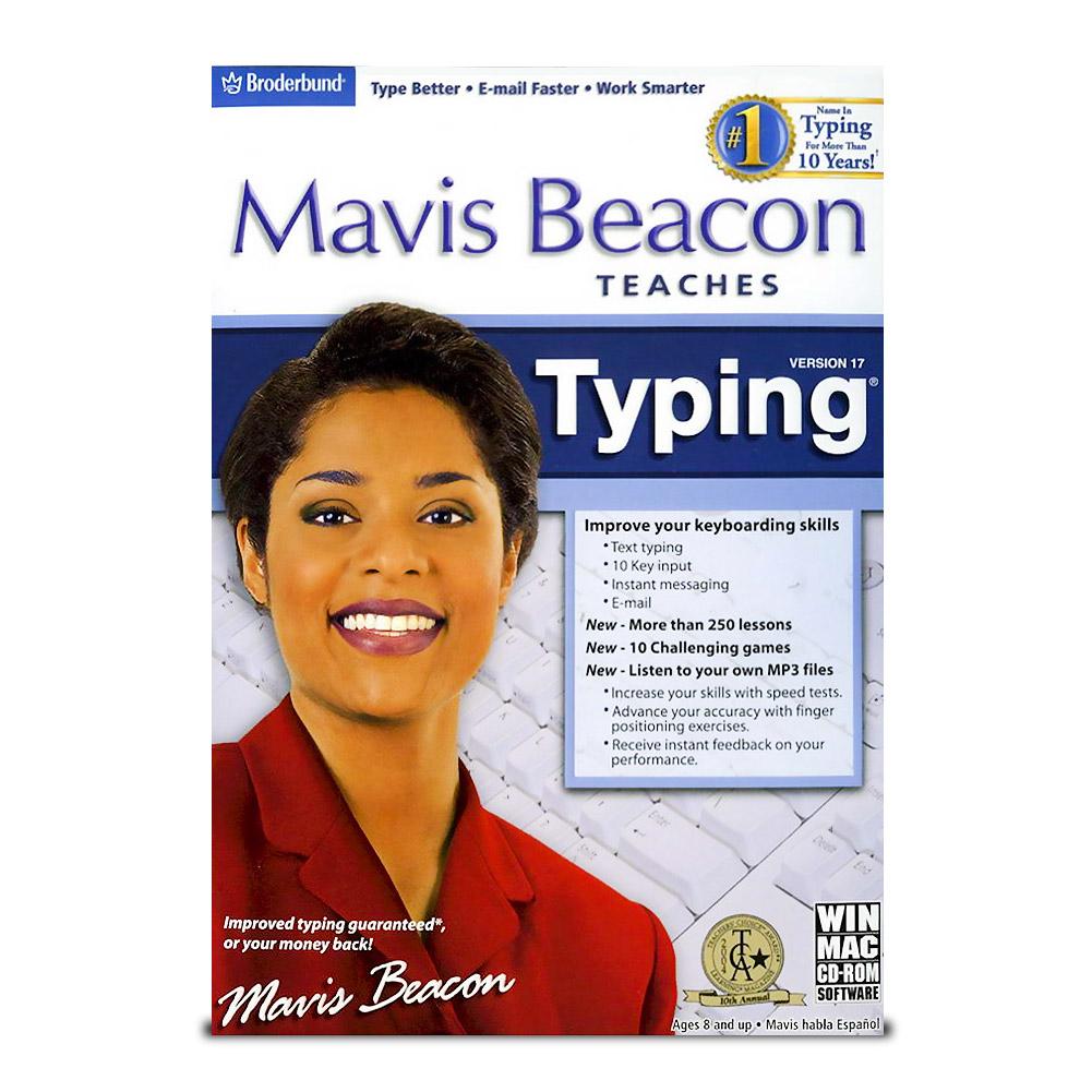Download Mavis Beacon Teaches Typing Deluxe 17 free ...